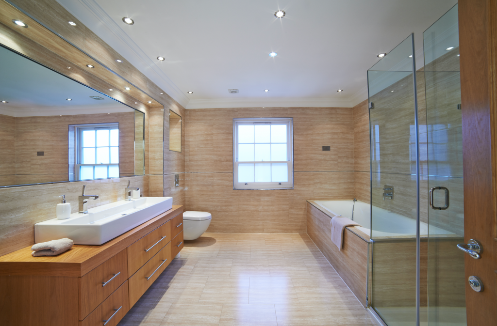 Remodeled Bathroom Tile Installer Chandler AZ